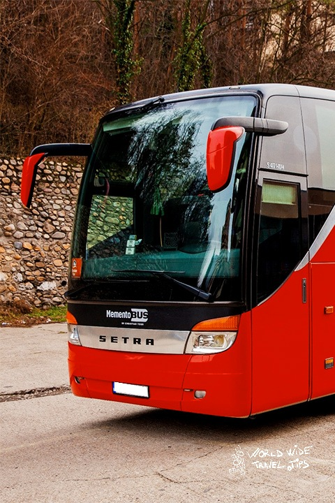 Get to Romania by bus