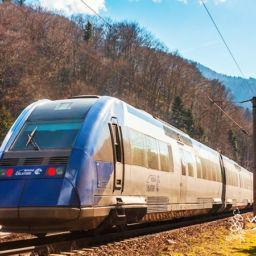 Bucharest to Brasov train