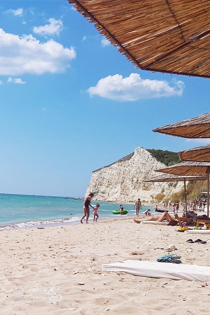 Bulgaria Beach on Black Sea Coast countries