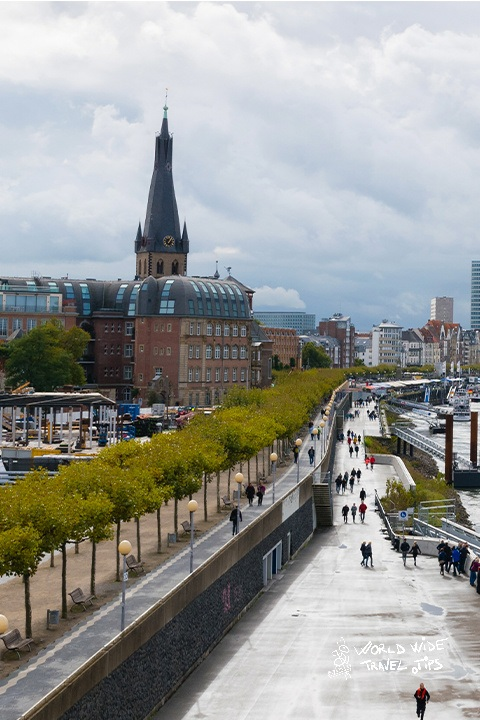 Dusseldorf city to visit near Netherlands