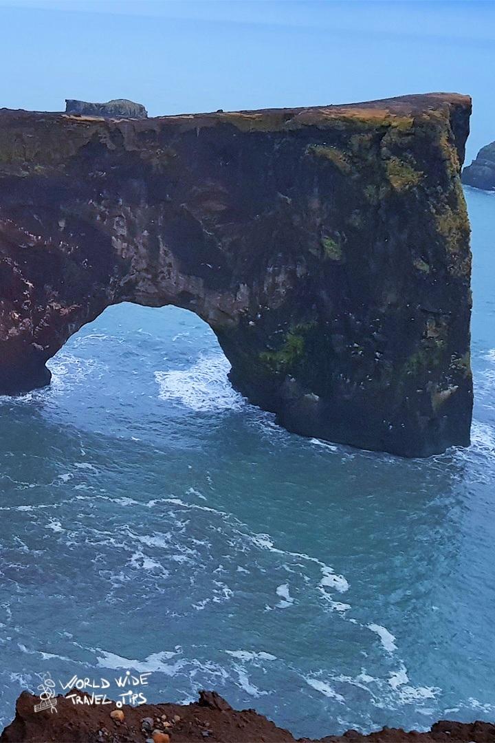 Dyrholaey Cape Arch