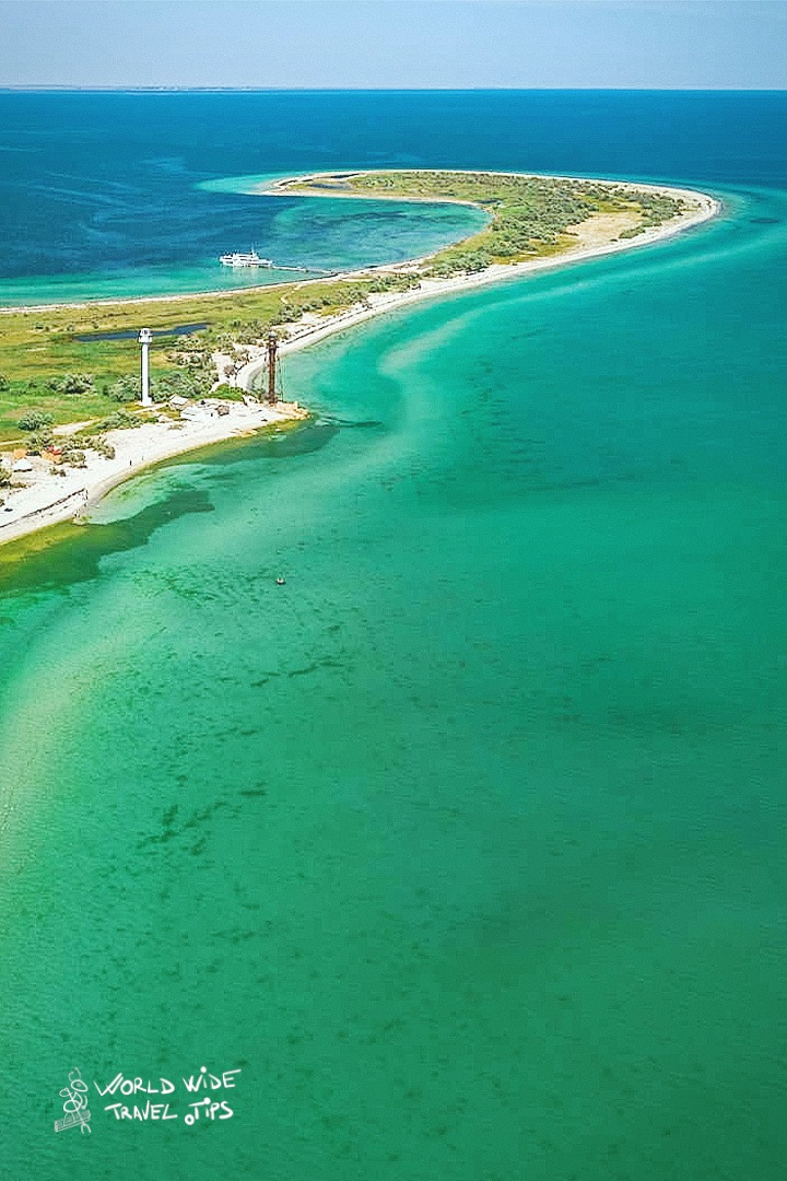 Dzharylhach Ukraine Maldives on Black Sea Coast