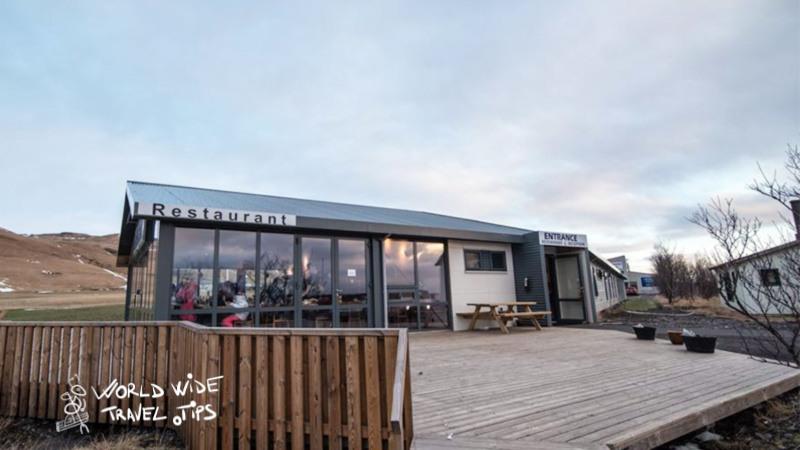 Hotel Skogafoss Iceland entrance _