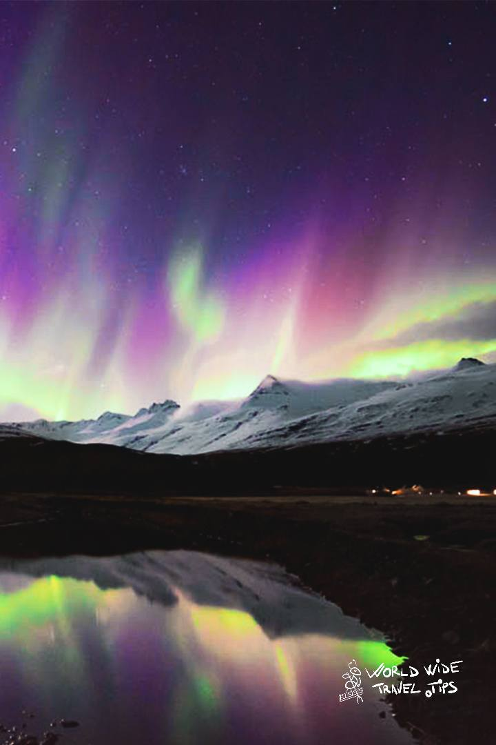 Iceland Aurora Borealis Northern Lights