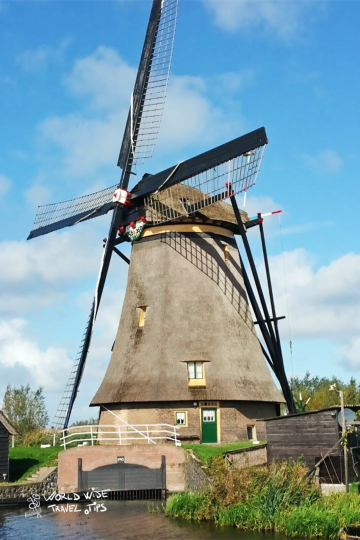 Netherlands Windmills Summer