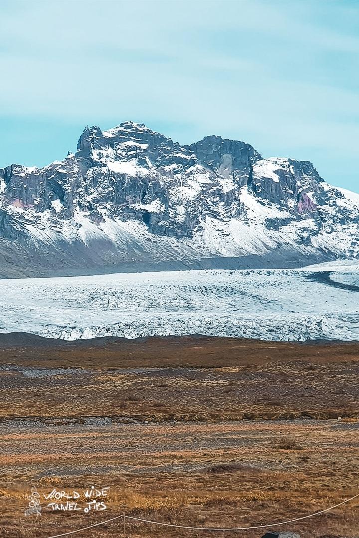 Vatnajokull Glacier in Icelad