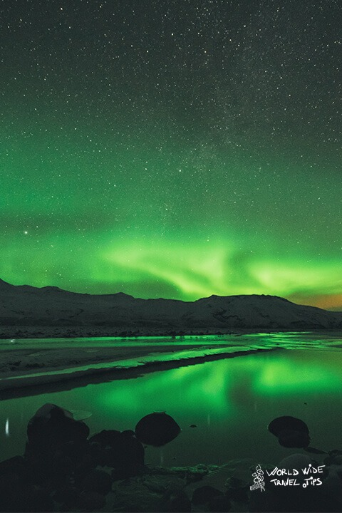 perfect period to view northern lights in Iceland