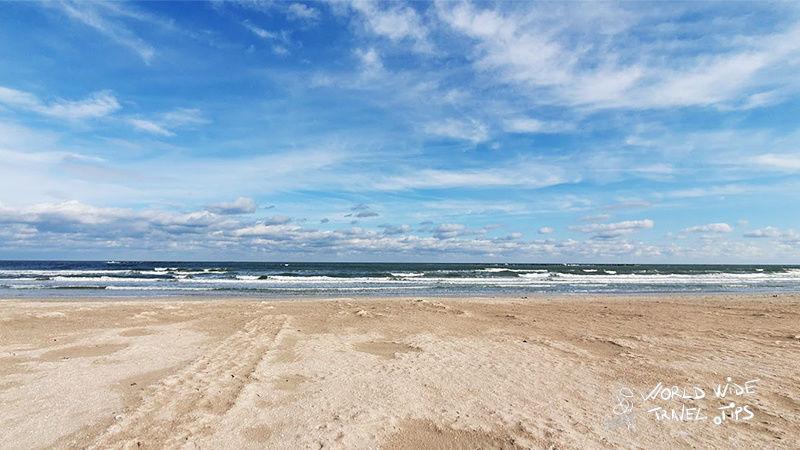 Corbu Beach on the Black Sea Coast