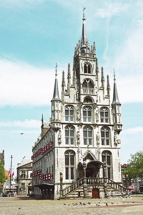 Gouda Town Hall Building places to visit in Netherlands