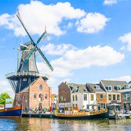 Haarlem Windmill Netherlands_