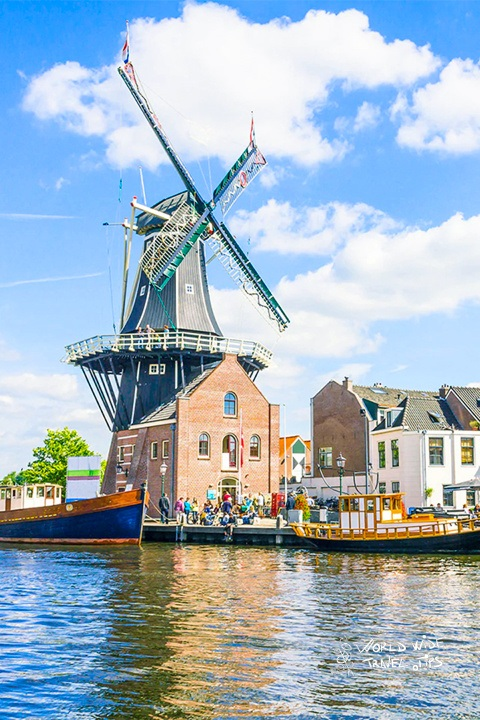 Haarlem Windmill Netherlands