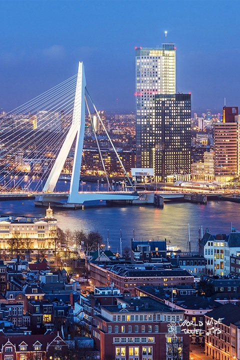 Rotterdam Bridge Netherlands places to visit in Netherlands