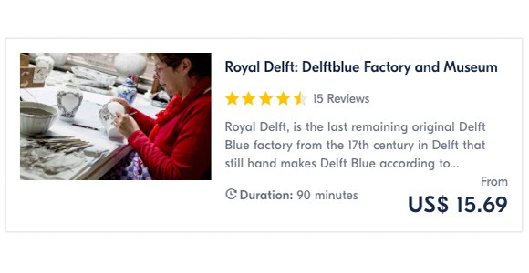 Royal Delft Delftblue Factory and Museum