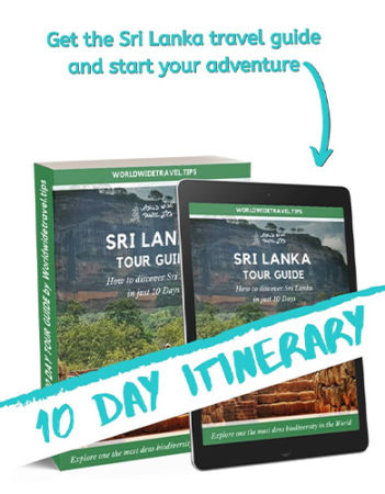 Sri Lanka travel guide 10 day itinerary-
