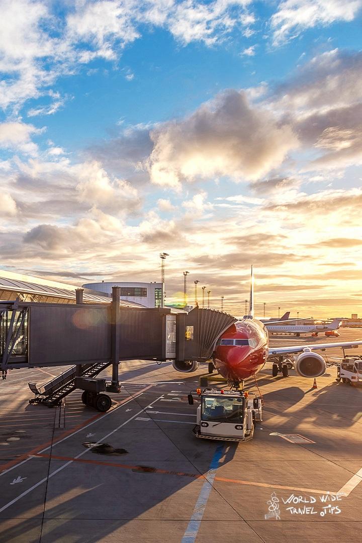 Travel Insurance plane airport