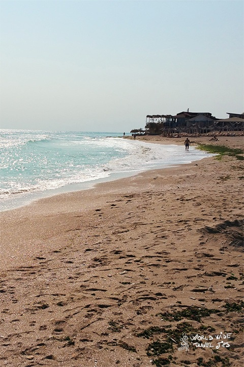Vama Veche Beach of Black Sea Coast Romania