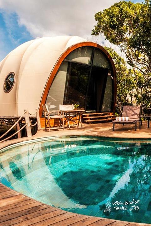 Wild Coast Tented Lodge in Sri Lanka
