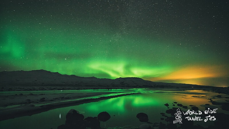 perfect period for seeing northern lights in Iceland