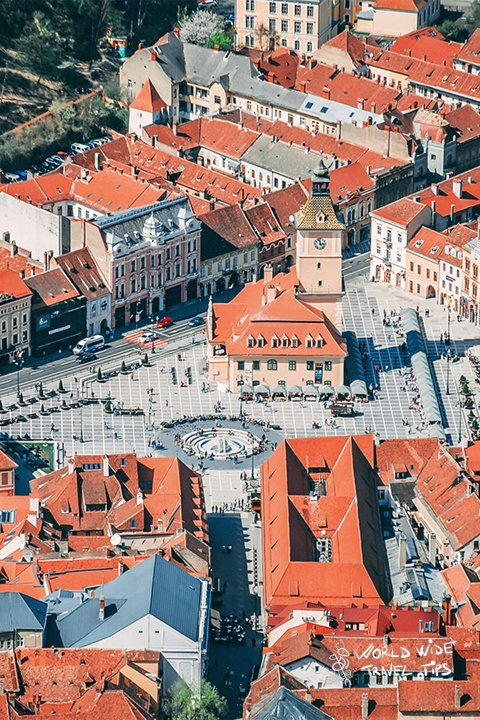 Brasov city transylvania