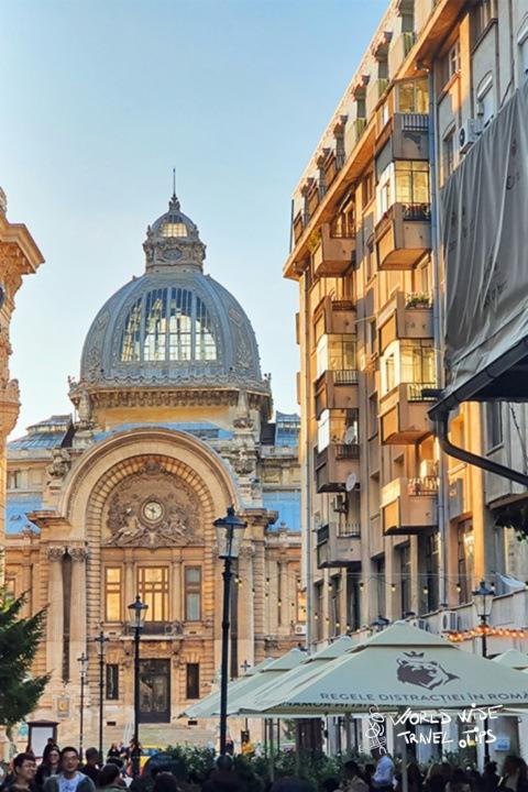 Bucharest Old Town Bank Cec