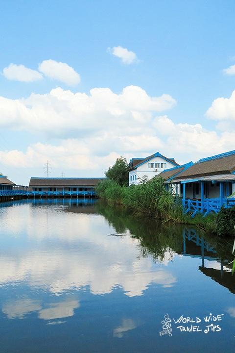 Danube Delta Romania Blue Village