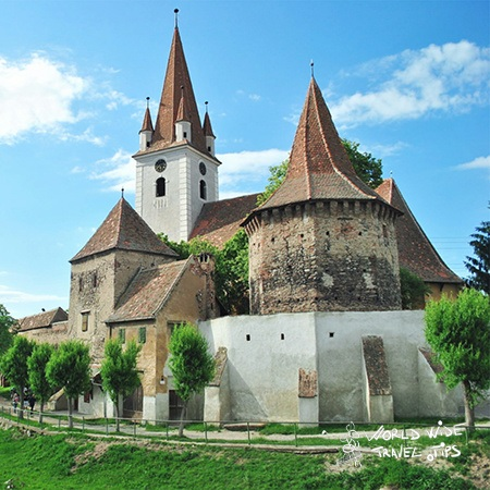 Evangelical fortified Church Cristian near Brasov