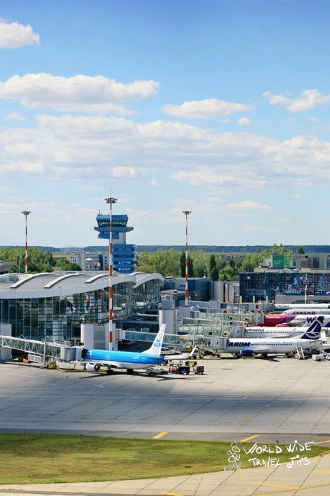 Henri Coanda Airport Bucharest Romania