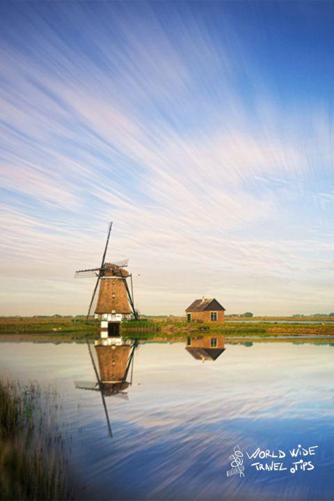 Netherlands Windmill countryside