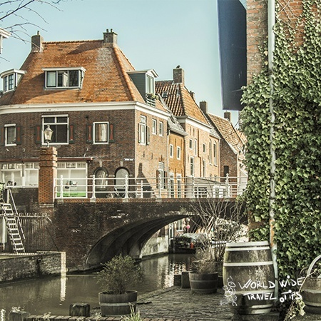 Netherlands tourism canal village