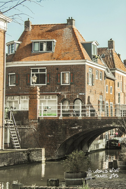 Tourism Netherlands village old canal Tourism in Netherlands during COVID