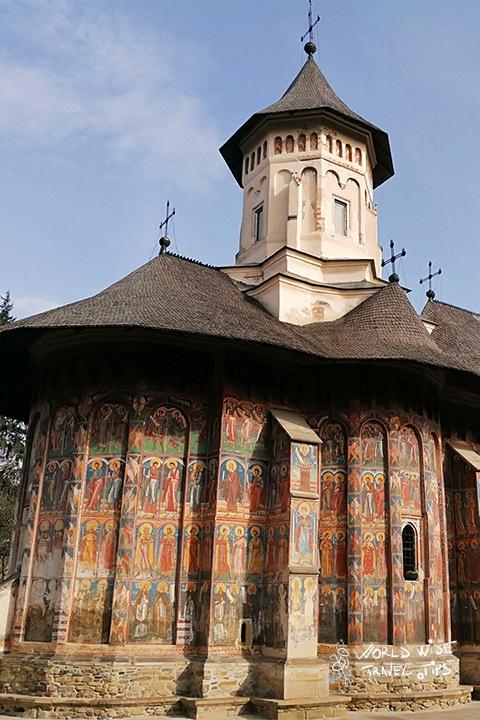 Romania Painted Monastery Bucovina