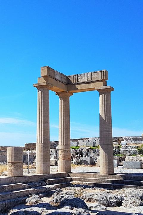 Rhodes history acropolis