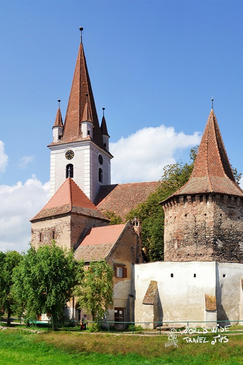 places to see in Romania Saxon Fortified Church Cristian Brasov Transylvania