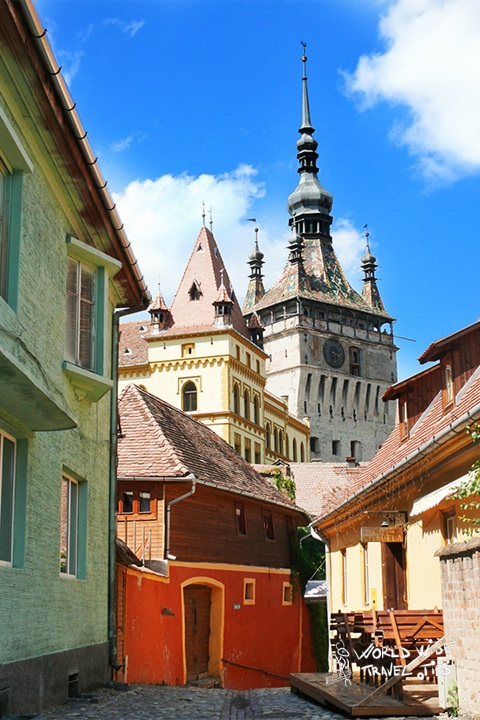 Sighisoara medieval city Romania