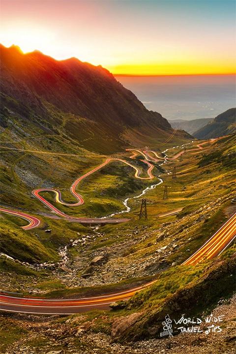Transfagarasan Road Transylvania Romania