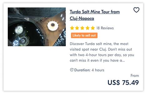 Turda Salt Mine Tour from Cluj-Napoca