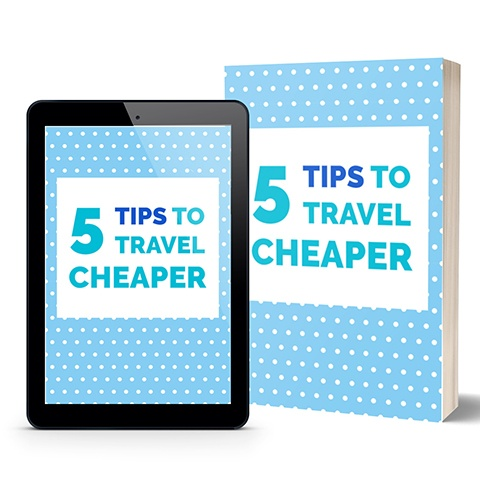 5 tips to travel cheaper ebook