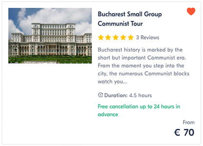 Bucharest Communist Tour