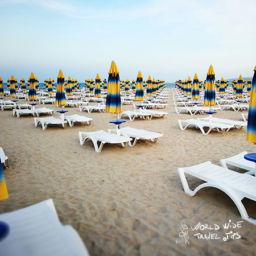 Bulgaria Beach sun beds