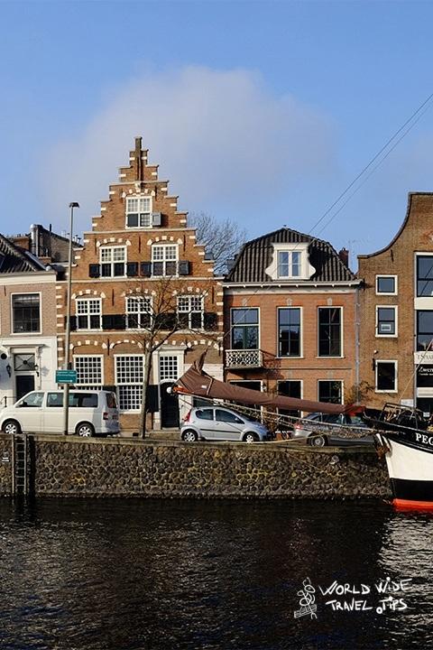 Netherlands Haarlem city landscape