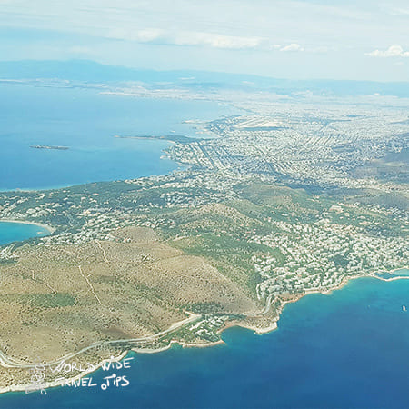 How long is the flight to Rhodes Greece Airport