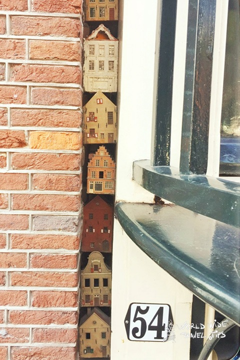 Mini Houses Amsterdam in holland
