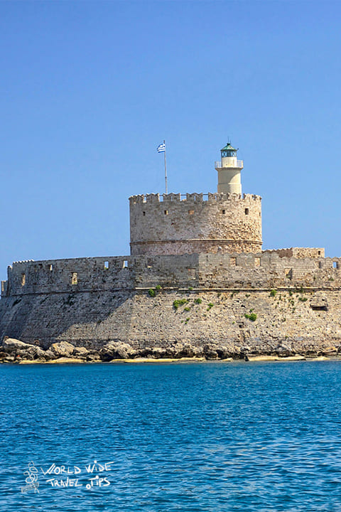 October weather in Rhodes Greece