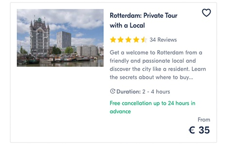Rotterdam Private Tour with a Local