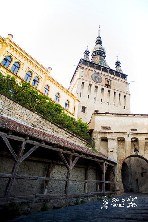 Visit Sighisoara Transylvania Medieval Tower clock