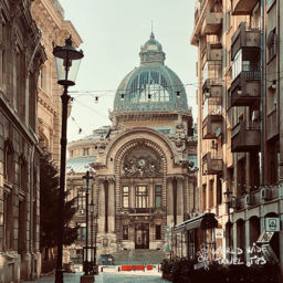visit Bucharest Cec Old Town