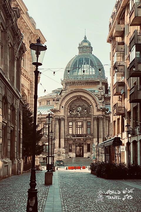 visit Bucharest Cec Old Town romania destinations