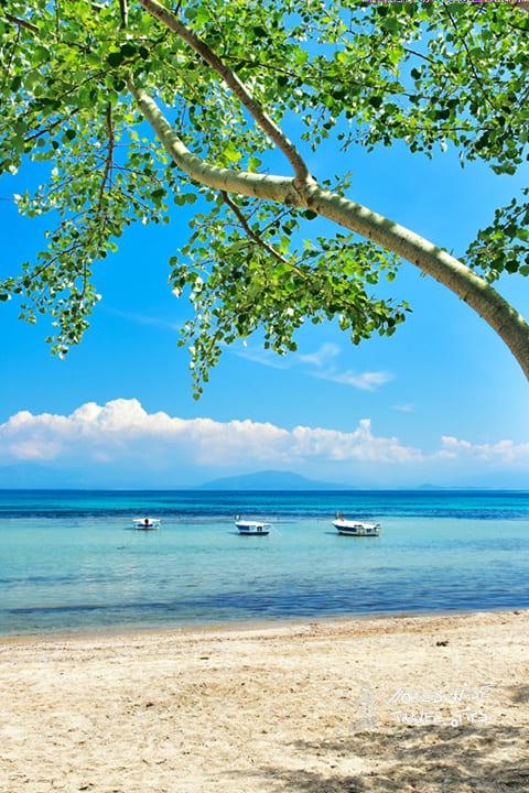 Corfu Greece Greek Beach