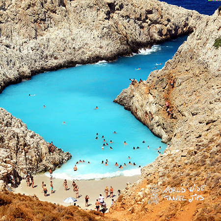 Top places to visit Greece Crete Lagoon