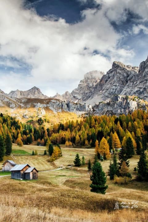 Dolomites Italy Val di fassa